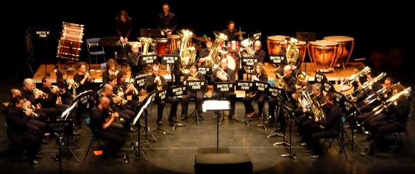 Le Brass Band de l'Ain à l'Opéra de Lyon